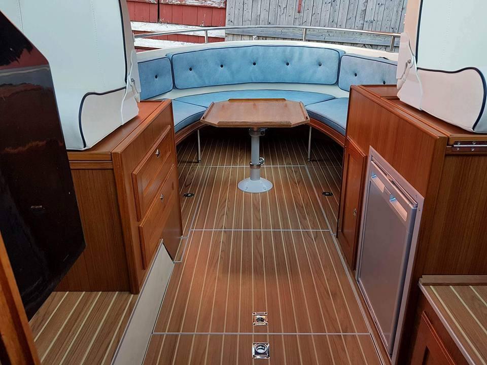 Boat interior, baatinnredning, skreddersydd design