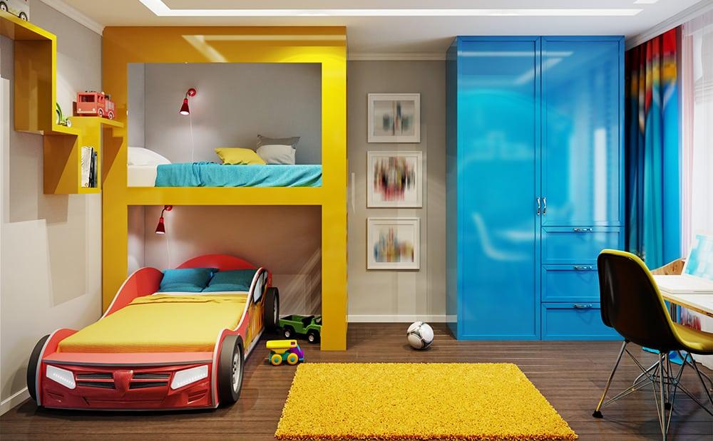 Bilde av barnerom - Kunst og design - IrDesign